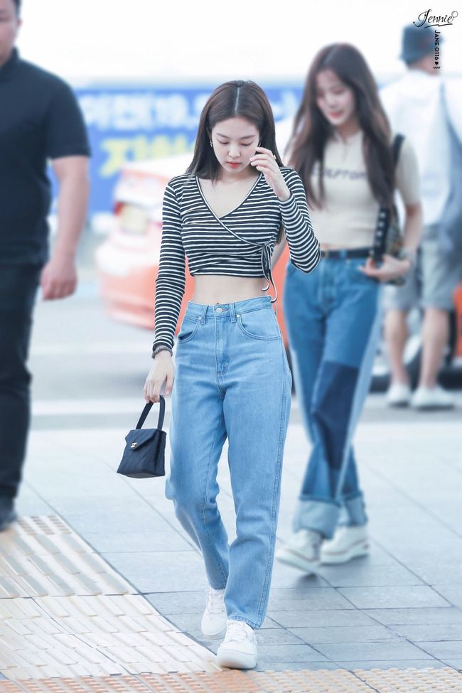 Jennie mặc quần dài - Ảnh 7.