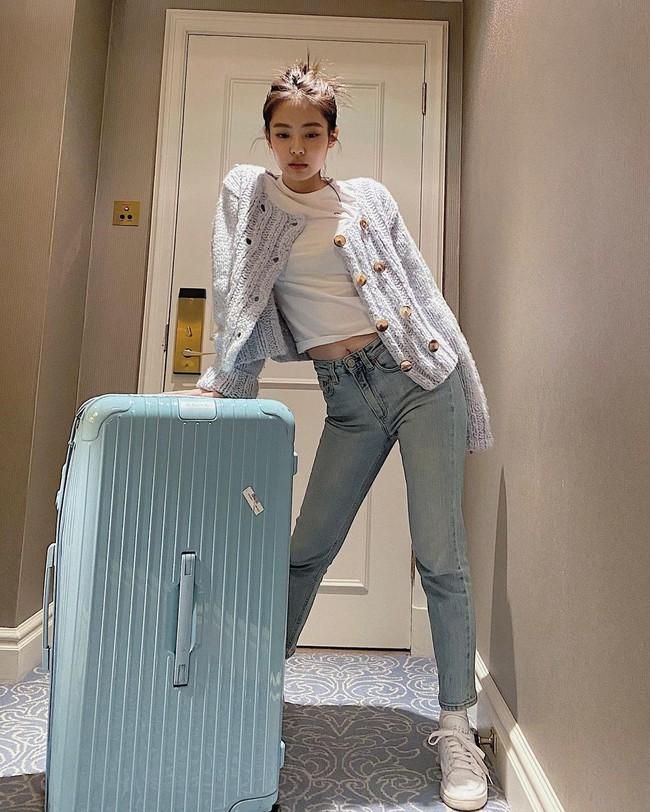 Jennie mặc quần dài - Ảnh 6.