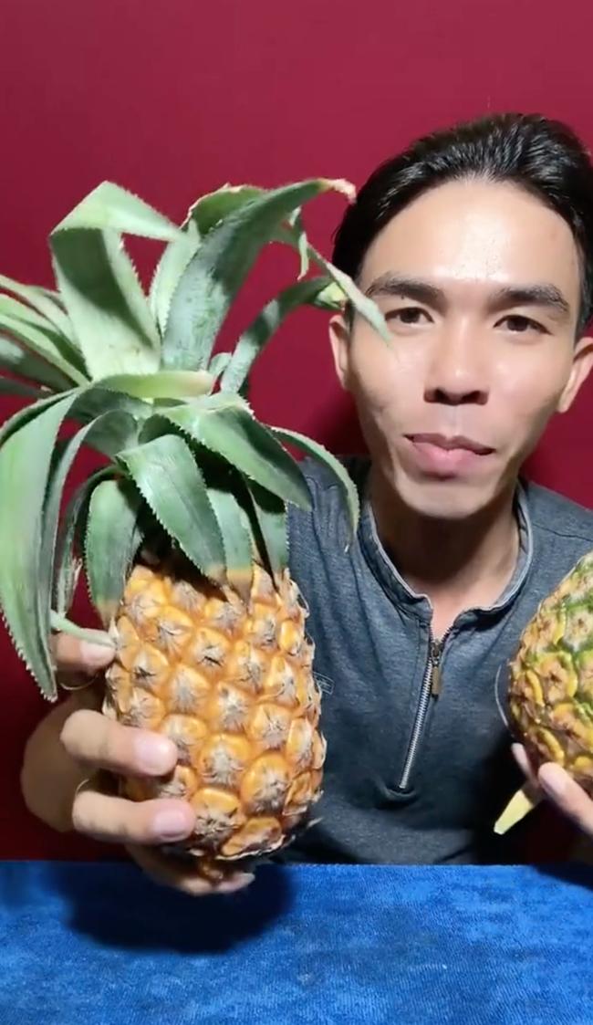 Tưởng rằng trái thơm với trái khóm là một, ai ngờ đâu lại là 2 loại quả khác nhau, nhìn bên ngoài tới 99% người ăn sẽ không nhìn ra sự khác biệt - Ảnh 2.
