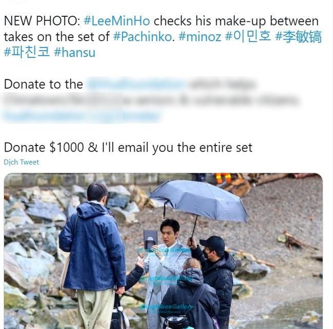 """Lee Min Ho để lộ khuôn mặt đen nhẻm do chụp lén, còn bị netizen """"làm tiền"""" với giá nghìn đô? - Ảnh 4."""