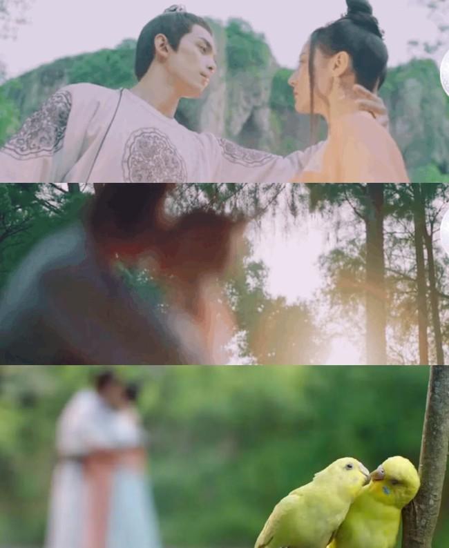 Trường Ca Hành: Lộ cảnh hôn mờ căm của Địch Lệ Nhiệt Ba - Ngô Lỗi, netizen mắng không bằng Chung Hán Lương - Ảnh 2.
