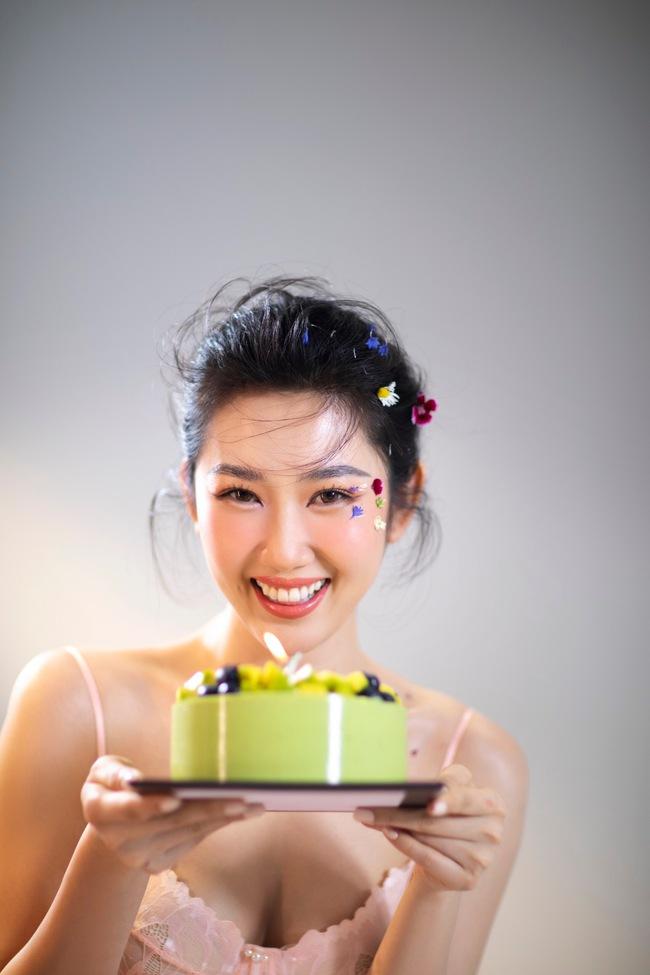 """Thúy Ngân khoe nhan sắc ngày càng thăng hạng trong bộ ảnh đánh dấu tuổi mới, đúng ngày phát sóng """"Cây táo nở hoa"""" - Ảnh 4."""