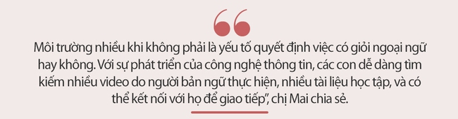 Không giỏi tiếng Anh, bà mẹ ở Phú Thọ vừa học vừa giúp con chinh phục học bổng hai trường tư thục nước ngoài danh giá - Ảnh 5.