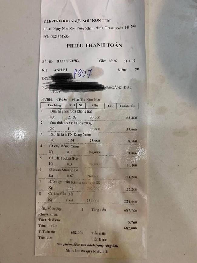 Xử phạt 17 triệu đồng đối với chuỗi cửa hàng thực phẩm sạch CleverFood bán cá kho có giòi cho khách - Ảnh 2.