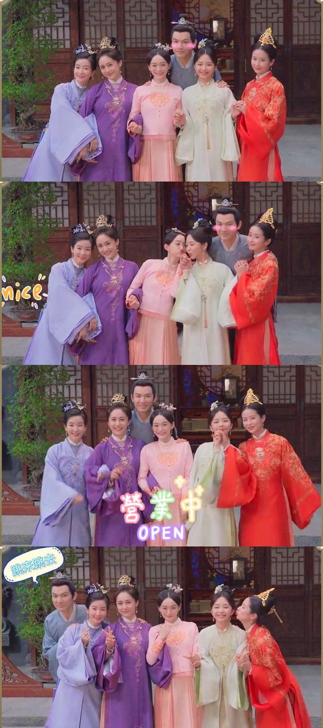 """Cẩm tâm tựa ngọc: Lộ ảnh hiếm của Chung Hán Lương - Đàm Tùng Vận và 4 bà vợ, có cả Dĩnh Nhi trước khi """"lãnh cơm hộp"""" - Ảnh 1."""