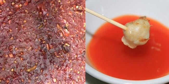 Hàng loạt vụ đồ ăn có giòi nhung nhúc bị phanh phui, vào mùa hè càng cần cảnh giác cao độ - Ảnh 3.