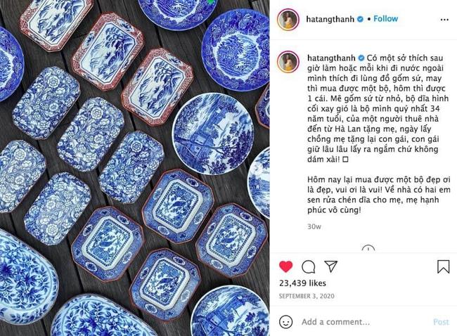 """Để ý những bức hình khoe đồ ăn của Hà Tăng mới thấy: """"yêu nữ"""" đồ gốm sứ đích thị là đây - Ảnh 1."""