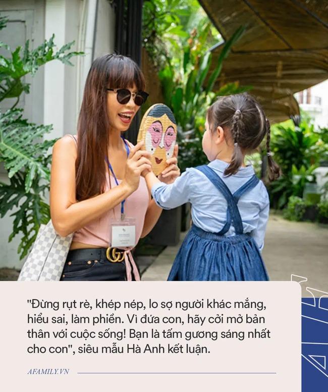 Kể vài ba câu chuyện hàng ngày với con gái, siêu mẫu Hà Anh khiến các bậc cha mẹ gật đầu lia lịa vì câu đúc kết quá chuẩn! - Ảnh 5.