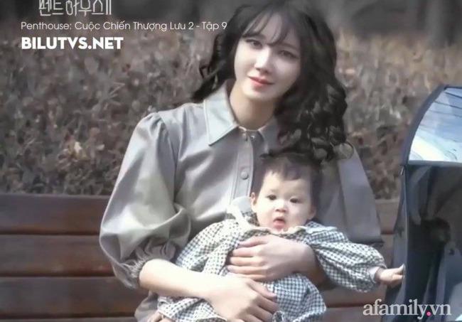 Tiết lộ danh tính bé gái Việt xuất hiện trong bộ phim đình đám Hàn Quốc - Penthouse, ngoài đời gây choáng vì gương mặt xinh như búp bê - Ảnh 1.