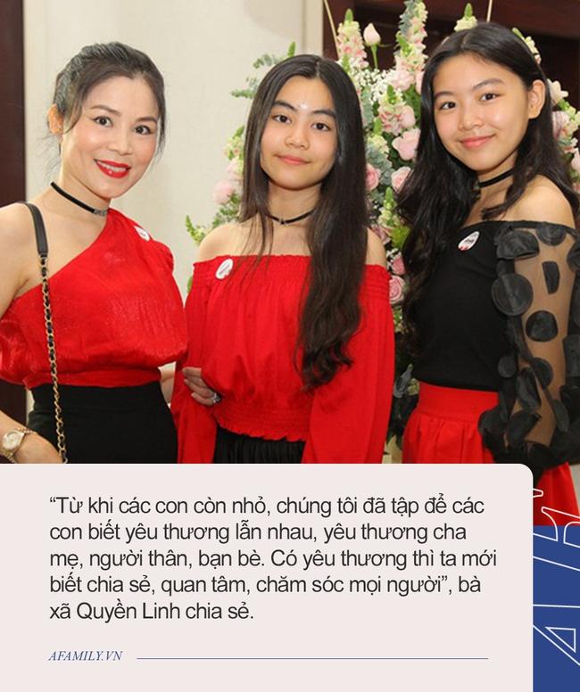 """Con gái Quyền Linh: Tiểu thư giàu có, học trường quốc tế nhưng đi học vẫn bị bạn """"bơ đẹp"""", cách giải quyết của gia đình quá đỉnh - Ảnh 5."""