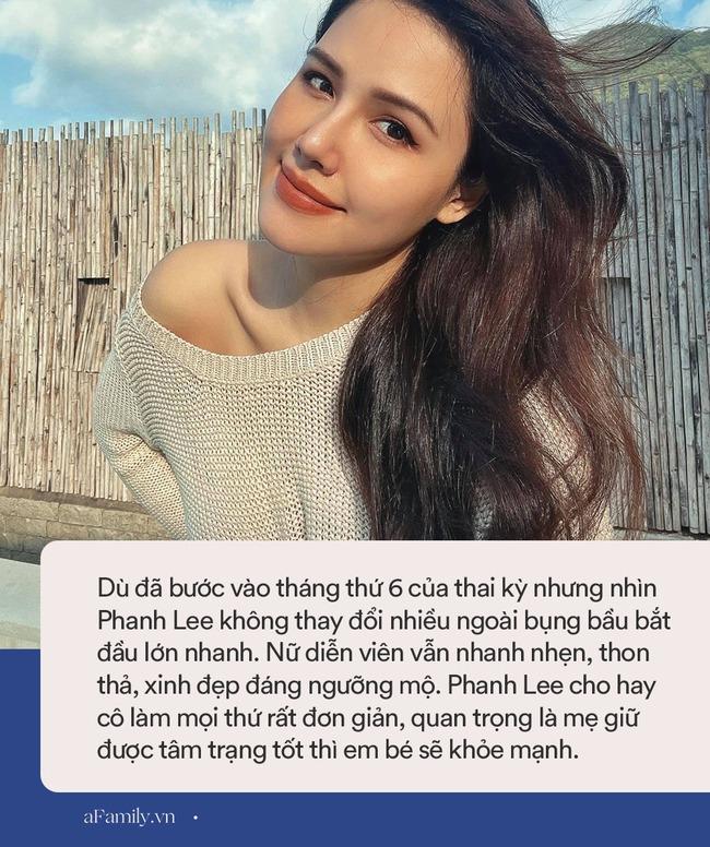 Ai cũng nghĩ Phanh Lee chăm chút bản thân kỹ lắm nên bầu 6 tháng vẫn thon thả, xinh đẹp như nữ thần, ngờ đâu bí quyết của cô đơn giản không tưởng - Ảnh 7.