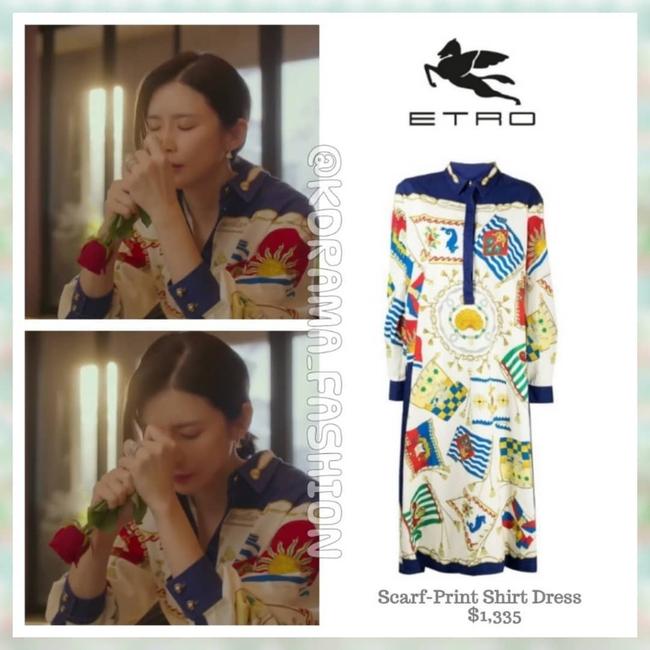 Đẳng cấp thời trang của Hoa hậu Hàn Quốc trong phim mới: Tủ đồ 100% váy áo xa xỉ,  - Ảnh 8.