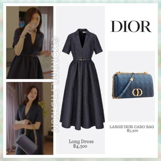 Đẳng cấp thời trang của Hoa hậu Hàn Quốc trong phim mới: Tủ đồ 100% váy áo xa xỉ,  - Ảnh 11.
