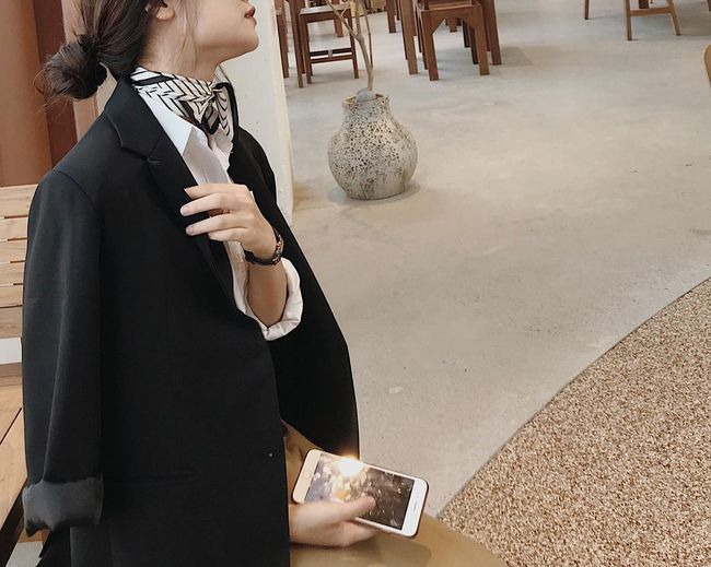 """Phương Anh - quý cô diện đồ Hàn theo style Pháp: """"Sự tinh tế, sang trọng luôn đến từ những món đồ cơ bản nhất"""" - Ảnh 11."""