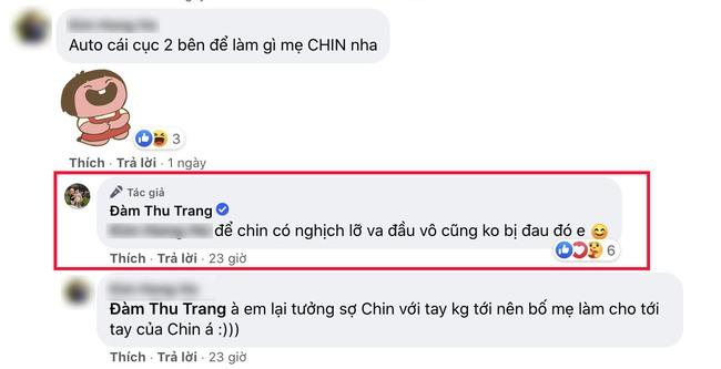Đàm Thu Trang khoe ảnh Suchin ngồi chơi xích đu cực hài, nhưng 1 chi tiết đã khiến hot mom để lộ việc có chăm con chu đáo hay không? - Ảnh 3.