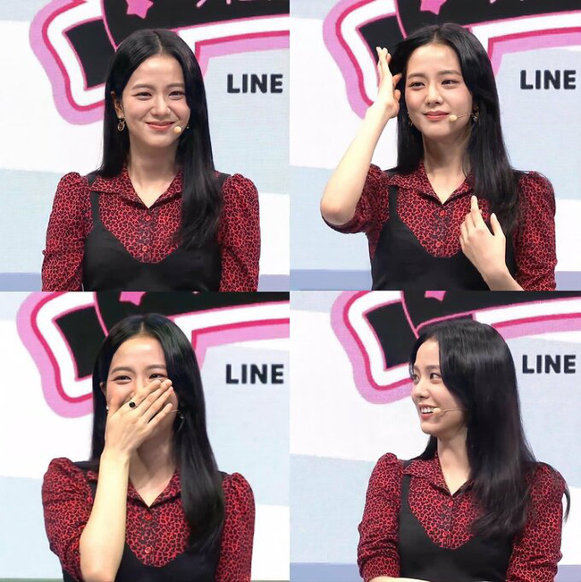 """Luôn được ví von nhan sắc như Hoa hậu Hàn nhưng Jisoo (Black Pink) lại bị chê """"dừ"""" như 30+ trong lần tái xuất gần đây - Ảnh 1."""