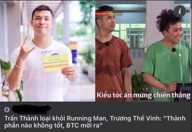 """Running Man Vietnam: Bị vu oan nói Trấn Thành là """"thành phần không tốt"""", Trương Thế Vinh đáp trả cực gắt"""