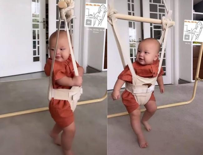 Cặp sinh đôi nhà Hồ Ngọc Hà và con gái Đông Nhi bất ngờ chơi chung một món đồ,  - Ảnh 2.