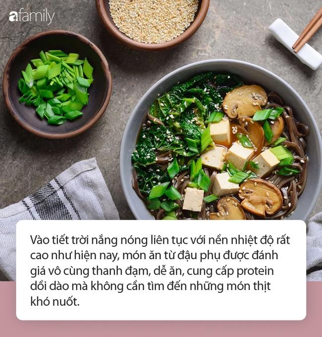 Điều gì xảy ra với cơ thể khi ăn đậu phụ đều đặn mỗi ngày, nhất là trong tiết trời nắng nóng? - Ảnh 3.