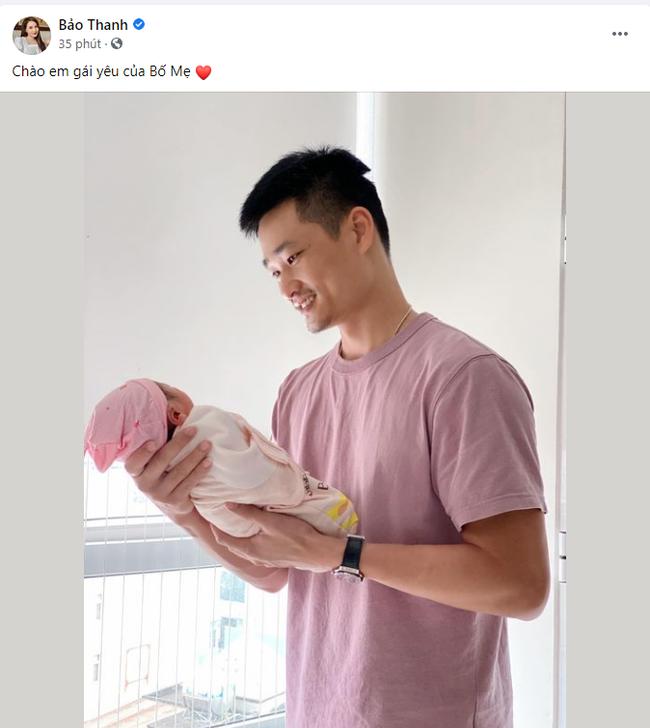"""Bảo Thanh """"Về nhà đi con"""" đã hạ sinh con thứ 2, tiết lộ luôn giới tính em bé - Ảnh 1."""