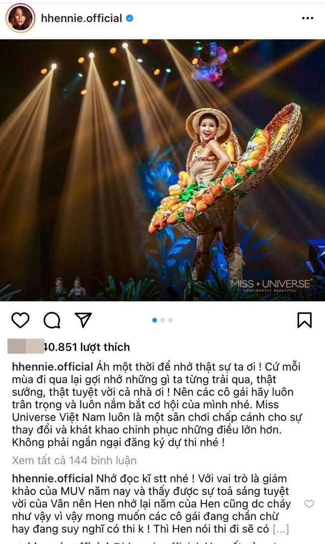 H'Hen Niê có động thái gây tranh cãi, muốn gây chú ý giữa lúc Khánh Vân đang được quan tâm tại Miss Universe 2020 - Ảnh 2.