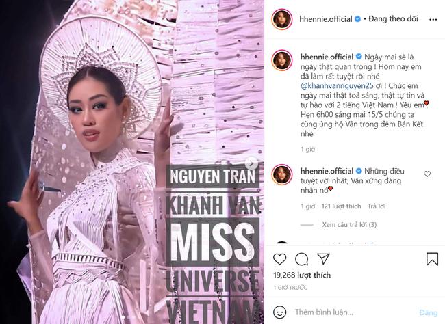 H'Hen Niê có động thái gây tranh cãi, muốn gây chú ý giữa lúc Khánh Vân đang được quan tâm tại Miss Universe 2020 - Ảnh 6.