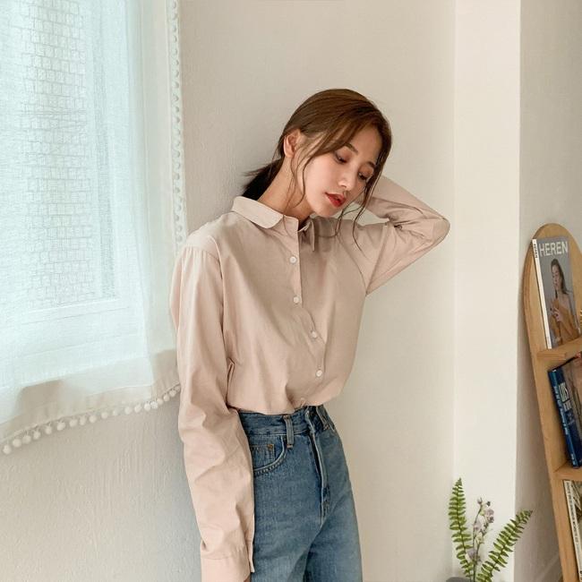 Mách nàng công sở cách chọn màu sắc áo sơ mi thật chuẩn để dáng gầy đi, da trắng trẻo - Ảnh 2.