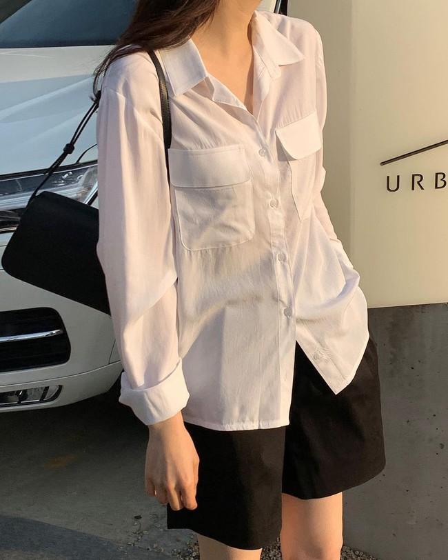 Mách nàng công sở cách chọn màu sắc áo sơ mi thật chuẩn để dáng gầy đi, da trắng trẻo - Ảnh 10.