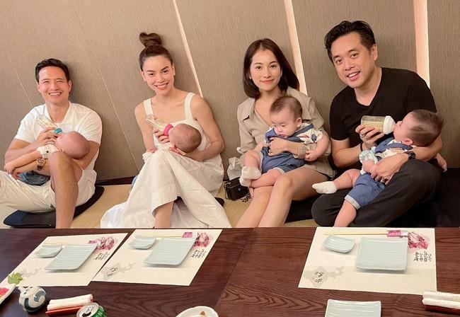 Hai gia đình Hồ Ngọc Hà và Dương Khắc Linh cho các con gặp mặt ngay sau khi bày tỏ mong muốn làm thông gia - Ảnh 2.