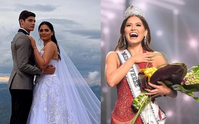"""""""Chồng tin đồn"""" của tân Hoa hậu Hoàn vũ chính thức lên tiếng về bức ảnh cưới - Ảnh 3."""