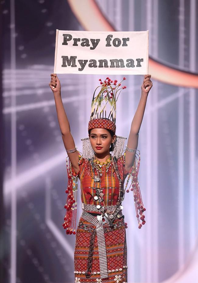 Chung kết Miss Universe 2020: Phần thi vấn đáp cuốn hút của top 5 - Ảnh 5.