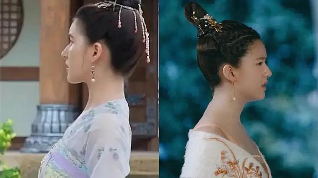 """Bị chê xấu khi đóng """"Trần Thiên Thiên trong lời đồn"""", Triệu Lộ Tư đáp trả, netizen bới móc cả chuyện mặt nọng, lưng gù - Ảnh 3."""