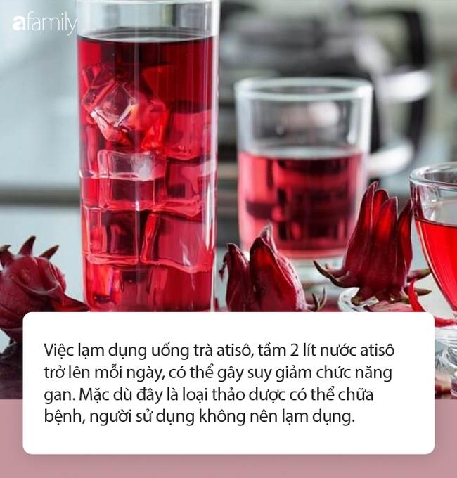 Dùng trà atisô giải nhiệt mùa hè, thải độc, làm đẹp da: Chuyên gia khuyến cáo tuyệt đối không được lạm dụng! - Ảnh 3.
