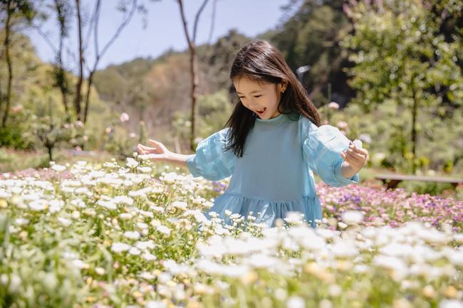 """Con gái Hà Kiều Anh xinh như thiên thần trong loạt ảnh mới, mẹ tiết lộ có sở thích đặc biệt với màu xanh vì 1 lý do """"cạn lời"""" - Ảnh 8."""