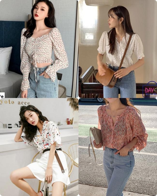 áo blouse - Ảnh 1.