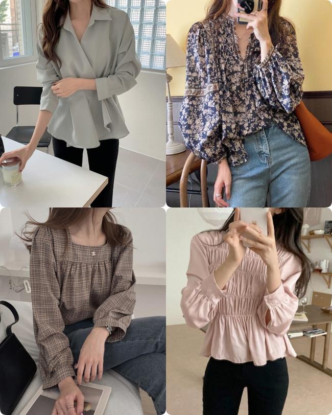 áo blouse - Ảnh 5.