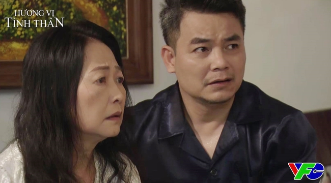Hương vị tình thân: Phương Oanh chết lặng vì câu nói của mẹ nuôi khi biết Diệp mới là người hiến tủy cứu bố - Ảnh 3.