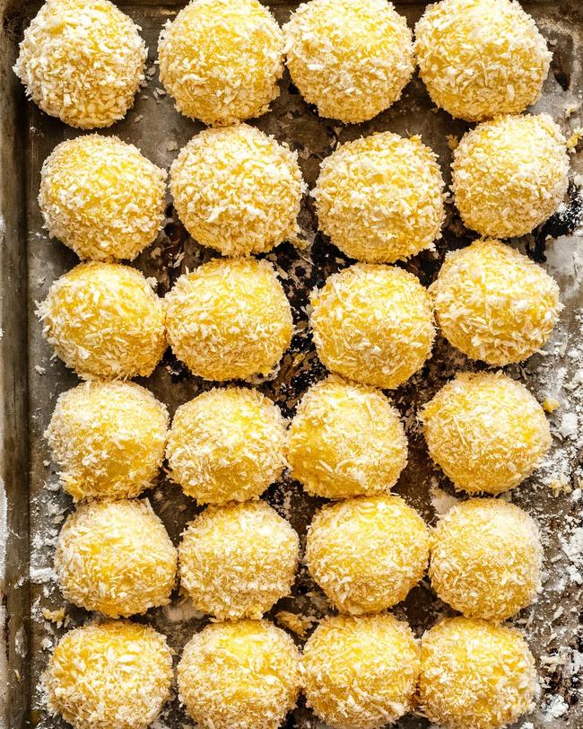 Cuối tuần này làm khoai tây viên bọc phô mai chiên xù theo công thức nhà Đăng Khôi, đảm bảo bé nào cũng mê tít - Ảnh 10.