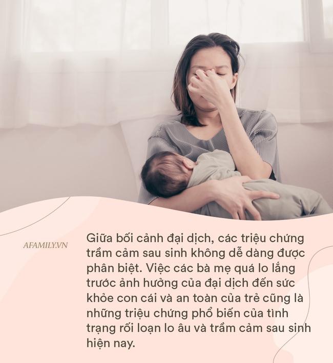 Dấu hiệu trầm cảm sau sinh khác gì với lo lắng về đại dịch Covid? - Ảnh 4.
