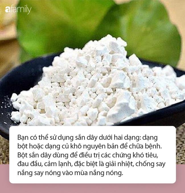 Thứ bột dân dã thường có trong nhiều món ăn mùa nắng nóng được Đông y coi là thuốc giải nhiệt, làm đẹp da siêu hay - Ảnh 4.
