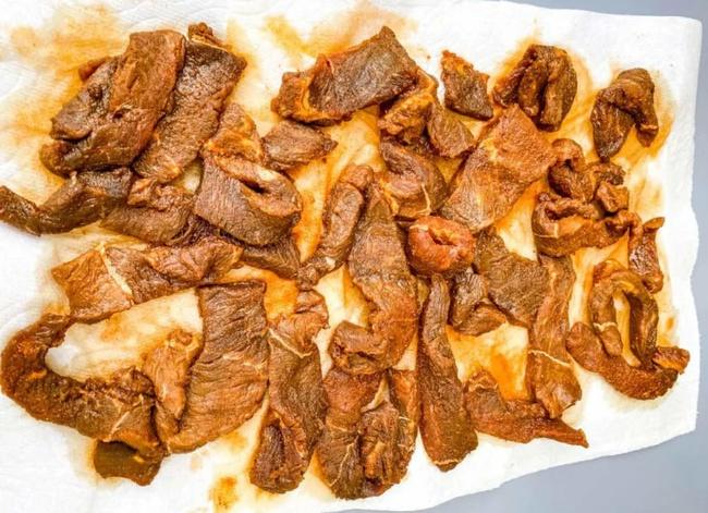 Thịt bò khô nồi chiên không dầu - Ảnh 8.