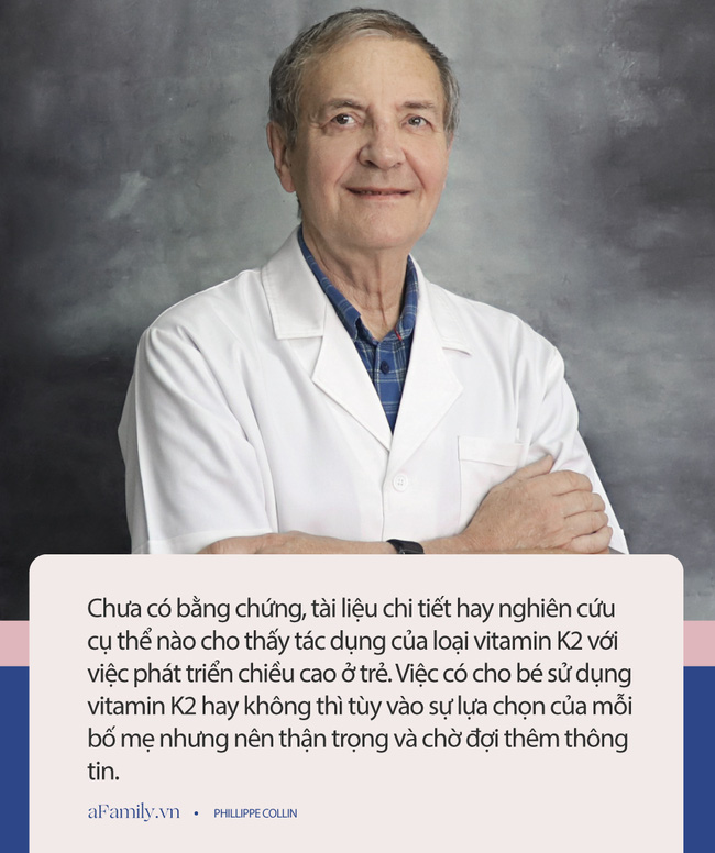 Chuyên gia Nhi khoa nổi tiếng nói gì về việc bổ sung vitamin D3 và K2 cho con để hỗ trợ tăng chiều cao? - Ảnh 4.