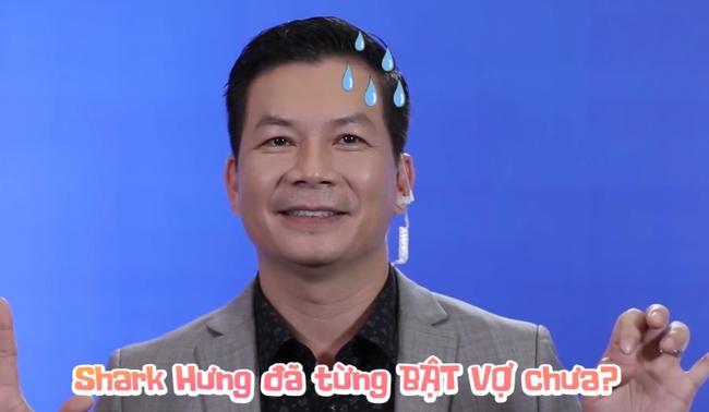 """Được hỏi ở nhà có từng bật lại vợ chưa, """"Tổng tài U50"""" của Shark Tank Việt Nam liền có phản ứng bất ngờ - Ảnh 3."""