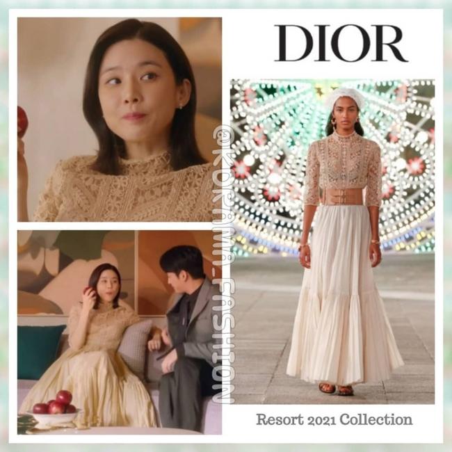 """Tưởng là ăn đứt mẫu Dior ở khoản tinh tế, nào ngờ """"nàng dâu thứ nhà tài phiệt"""" Lee Bo Young vẫn thua Jisoo (Black Pink) khi đụng hàng - Ảnh 6."""