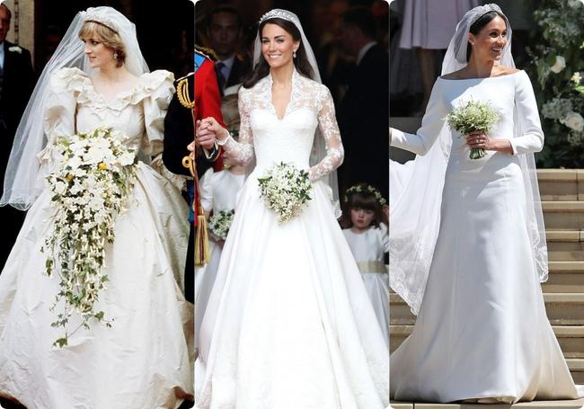 Không phải Kate Middleton hay Meghan Markle, đây mới là 2 cô dâu Hoàng gia có  - Ảnh 1.