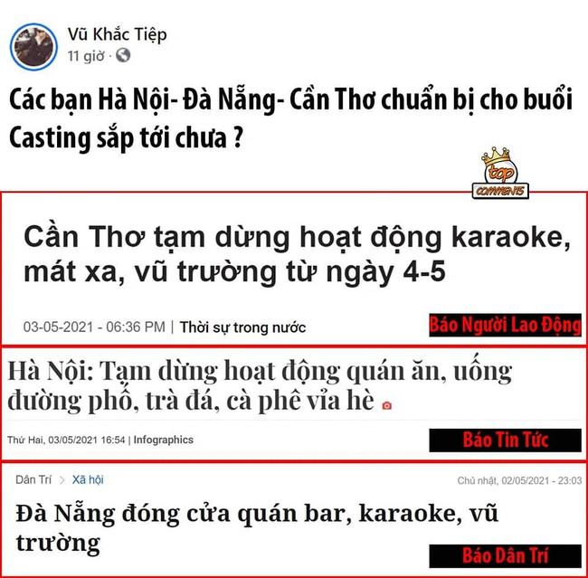 """""""Đại sứ cách ly"""" Vũ Khắc Tiệp tiếp tục bị gọi tên sau khi Hà Nội và Đà Nẵng ghi nhận ca nhiễm trong cộng đồng - Ảnh 3."""