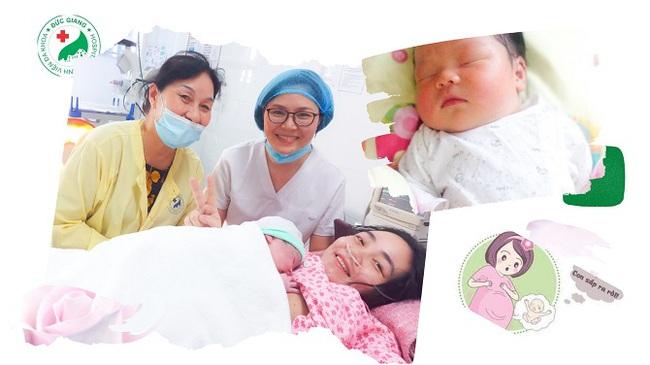 Hà Nội bé trai chào đời nặng tới 4.4kg bằng sinh thường tương đương với cân nặng của trẻ 01 tháng tuổi - Ảnh 4.