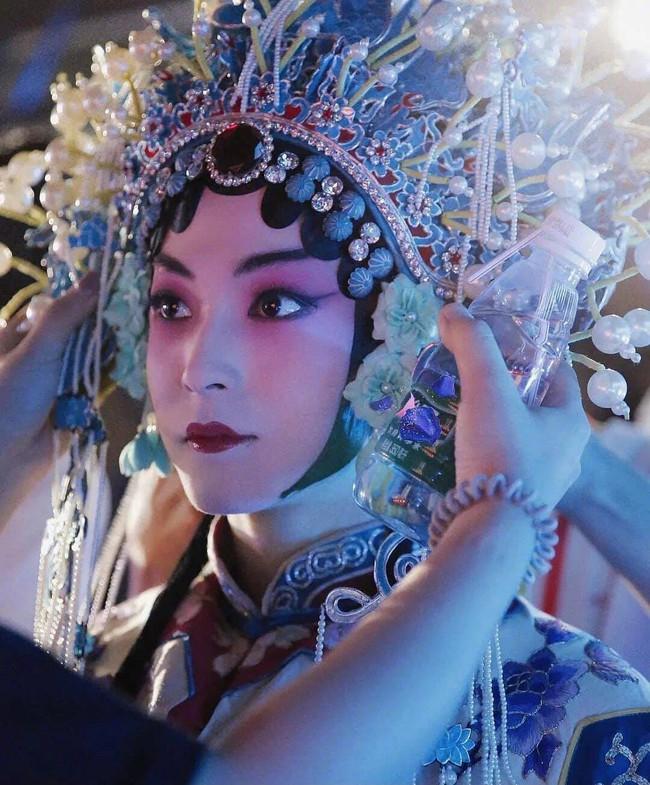 Sáng tạo doanh 2021: Lộ tạo hình kinh kịch đẹp mắt của Lưu Vũ, Center đông fan nhất đúng chuẩn visual - Ảnh 5.
