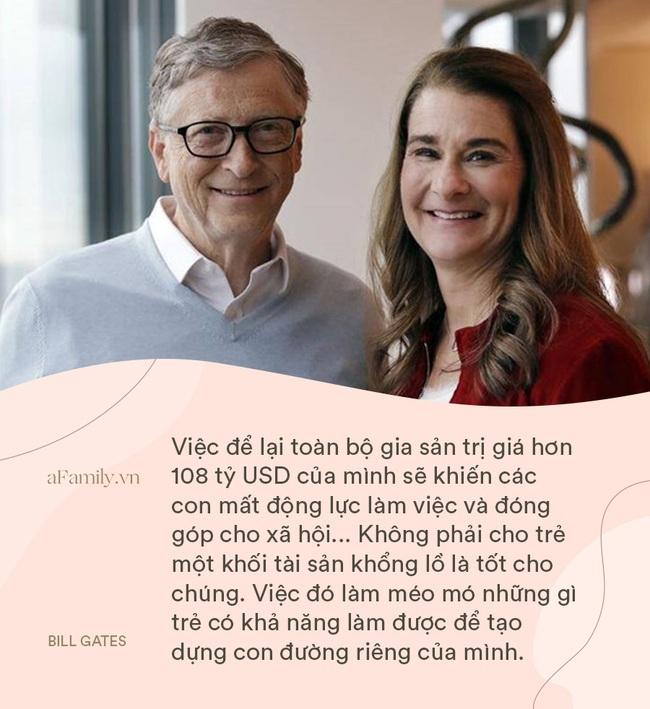 """Bill Gates và vợ """"cung đàn vỡ đôi"""", nhìn 8 điều dạy con siêu hay ho của cặp đôi một thời, ai cũng chẹp miệng: Tiếc thế!  - Ảnh 2."""
