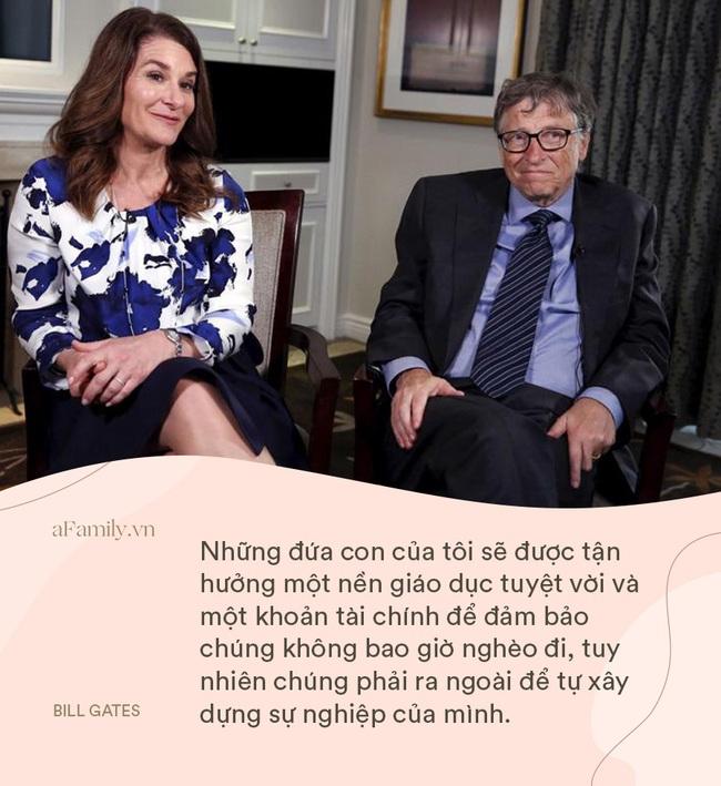 """Bill Gates và vợ """"cung đàn vỡ đôi"""", nhìn 8 điều dạy con siêu hay ho của cặp đôi một thời, ai cũng chẹp miệng: Tiếc thế!  - Ảnh 3."""